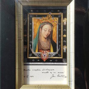 Obrazek Matki Bożej Cierpliwie Słuchającej – mały